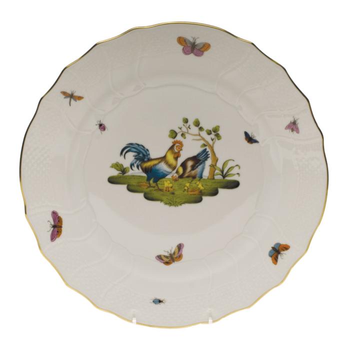 """Chanticleer Dinner Plate - Motif 04 10.5"""""""