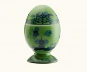Ginori Oriente Italiano Malachite Egg