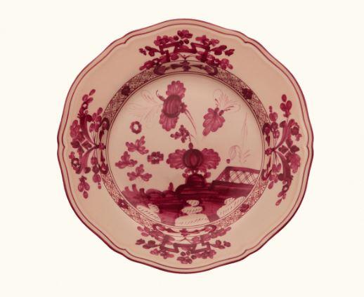Ginori Oriente Italiano Vermiglio Dessert Plate