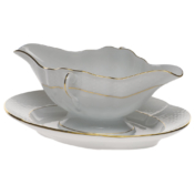 Herend Golden Edge Gravy boat