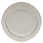 "Golden Edge Bread & Butter Plate  6""D"