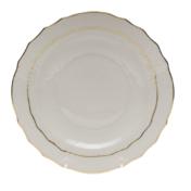 """Golden Edge Salad Plate  7.5""""D"""