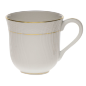 "Golden Edge Mug  (10 Oz) 3.5""H"