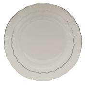 "Platinum Edge Dinner Plate  10.5""D"