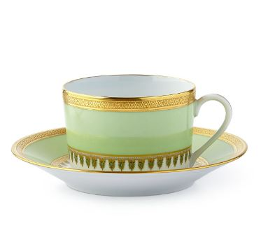 Haviland Oasis Tea Cup and Saucer