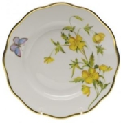 Herend Evening Primrose Salad Plate