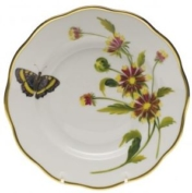Herend Indian Blanket Flower Salad Plate