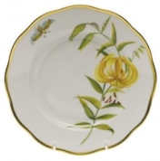 Herend Meadow Lily Salad Plate