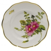 Herend Prairie Rose Salad Plate