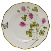 Herend Red Clover Salad Plate