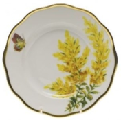 Herend Tall Goldenrod Salad Plate