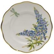Herend Texas Blue Bonnet Salad Plate