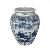 *Featuring* Blue & White Pottery