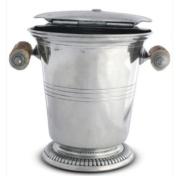 Ice Bucket with Antler Handles