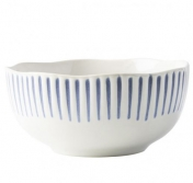 JULISKA SITIO STRIPE CEREAL ICE CREAM BOWL