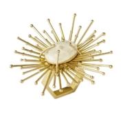 Kim Seybert Gold Flare Napkin Ring