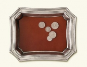 MAtch Pocket Change Tray with Leather
