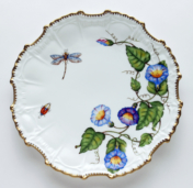 Morning Glory Morning Glory Star Dinner Plate