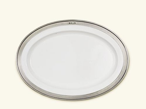 Match Convivio Ceramic Oval Serving Platter