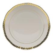 "Golden Laurel Dinner Plate  10.5""D"