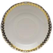 """Golden Laurel Tea Saucer  6""""D"""