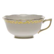 Golden Laurel Tea Cup  (8 Oz)