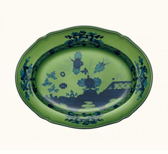 Oriente Italiano Malachite Serving Platter