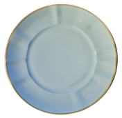Powder Blue Powder Blue Dinner Plate
