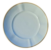 Powder Blue Powder Blue Salad/Dessert Plate