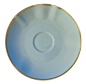 Powder Blue Powder Blue Tea Saucer