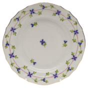"Blue Garland Bread & Butter Plate  6""D"