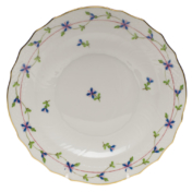 "Blue Garland Salad Plate  7.5""D"
