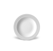 Perlee White SOUP Plate