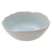 Plume White Fruit Bowl