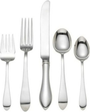 Pointed Antique 5 Piece Place Setting