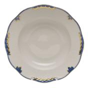 Princess Victoria Blue Rim Soup Plate