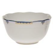 Princess Victoria Blue Round Bowl