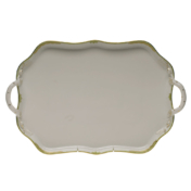 Princess Victoria Rectangular Tray with Branch Handles