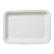 Puro Whitewash 18 Inch Rectangular Tray Platter