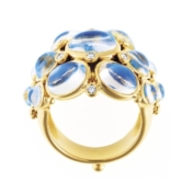 Temple St. Clair Blue Moonstone Ring