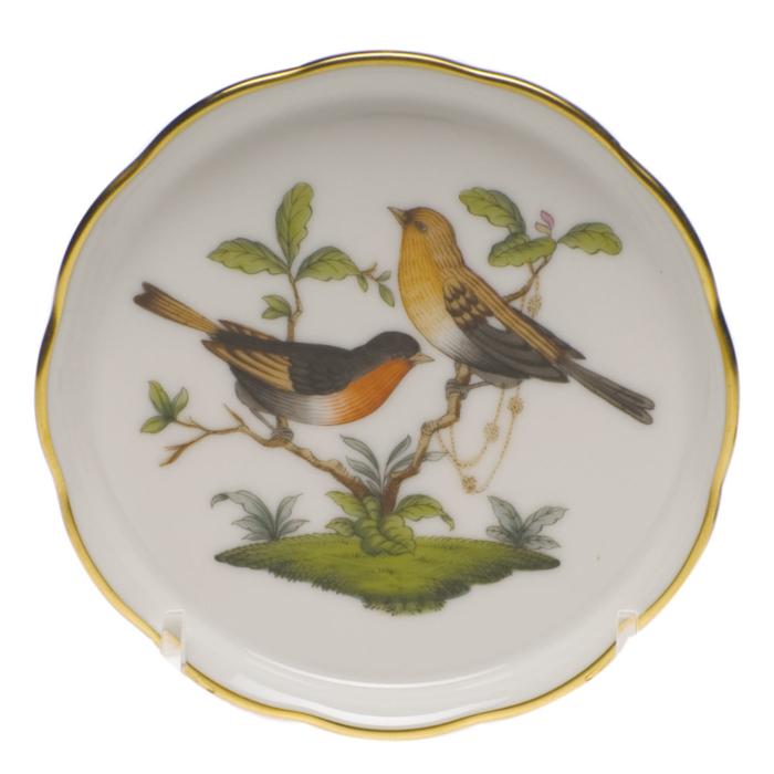 """Rothschild Bird Coaster - Motif 09 4""""D"""