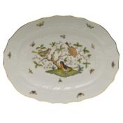 """Rothschild Bird Platter  17""""L X 12.5""""W"""