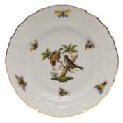 """Rothschild Bird Bread & Butter Plate - Motif 12 6""""D"""