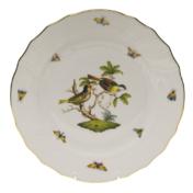 """Rothschild Bird Dinner Plate - Motif 11 10.5"""""""