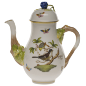 Rothschild Bird Coffee Pot With Blackberry (32 Oz)