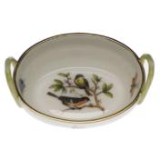"""Rothschild Bird Basket With Handles  2.75""""L X 2.25""""W"""