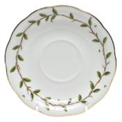 """Rothschild Garden Tea Saucer 6""""D"""