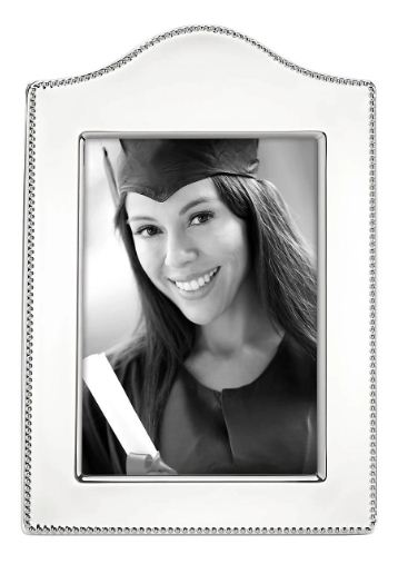 Reed and Barton Lyndon Curved 5x7 Photo Frame
