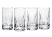 Reed and Barton Set of Four Soho Highball Glasses