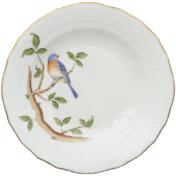 """Song Bird Dessert Plate - Bluebird 8.25""""D"""